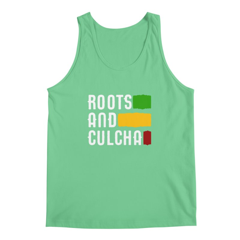 Roots and Culcha (Light) Men's Tank by Rasta University Shop