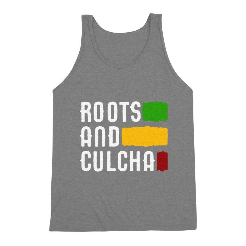 Roots and Culcha (Light) Men's Triblend Tank by Rasta University Shop