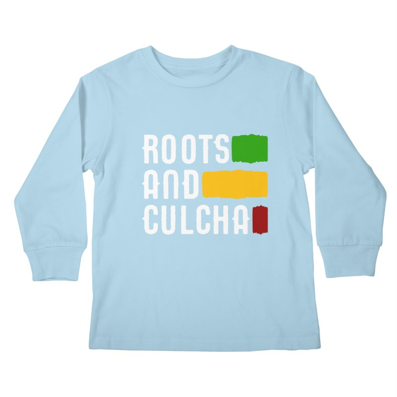 Roots and Culcha (Light) Kids Longsleeve T-Shirt by Rasta University Shop