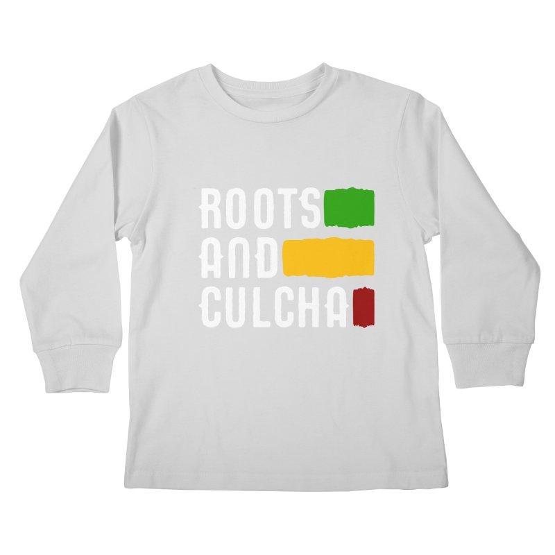 Roots and Culcha (Light) Kids Longsleeve T-Shirt by Rasta University Shop