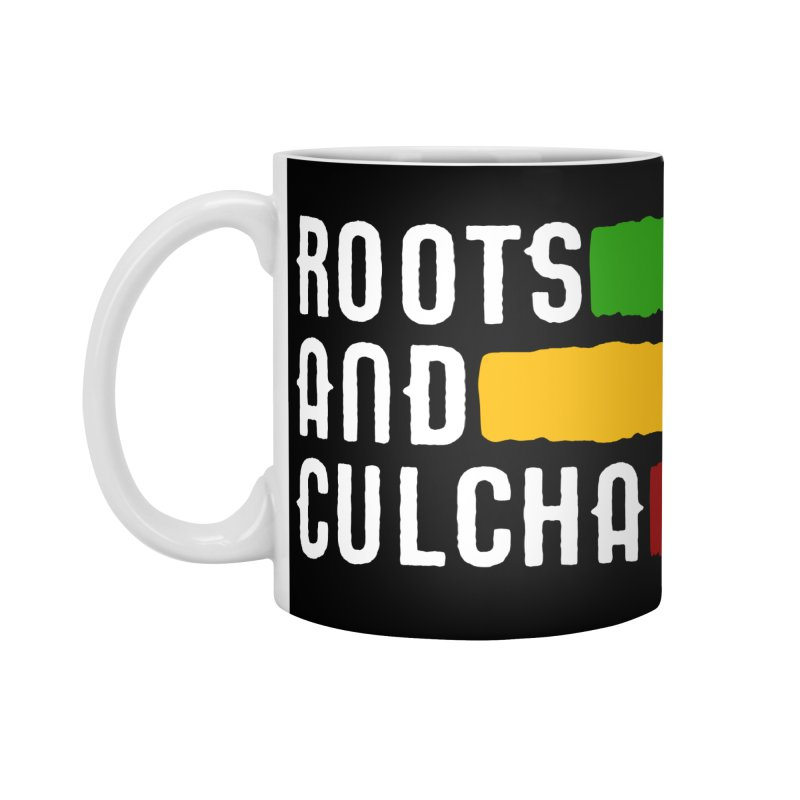 Roots and Culcha (Light) Accessories Standard Mug by Rasta University Shop