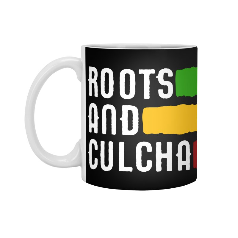 Roots and Culcha (Light) Accessories Mug by Rasta University Shop