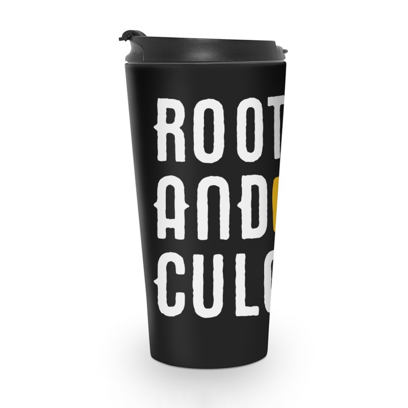 Roots and Culcha (Light) Accessories Travel Mug by Rasta University Shop