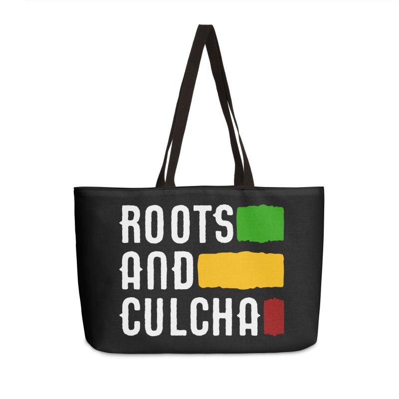 Roots and Culcha (Light) Accessories Weekender Bag Bag by Rasta University Shop