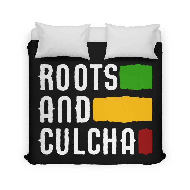 Roots and Culcha (Light) Home Duvet by Rasta University Shop