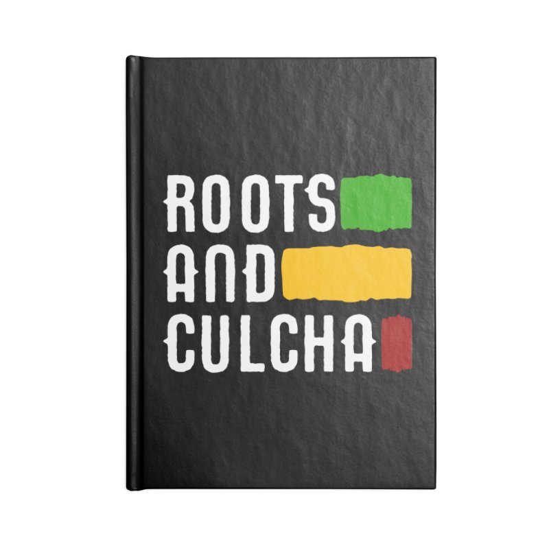 Roots and Culcha (Light) Accessories Lined Journal Notebook by Rasta University Shop