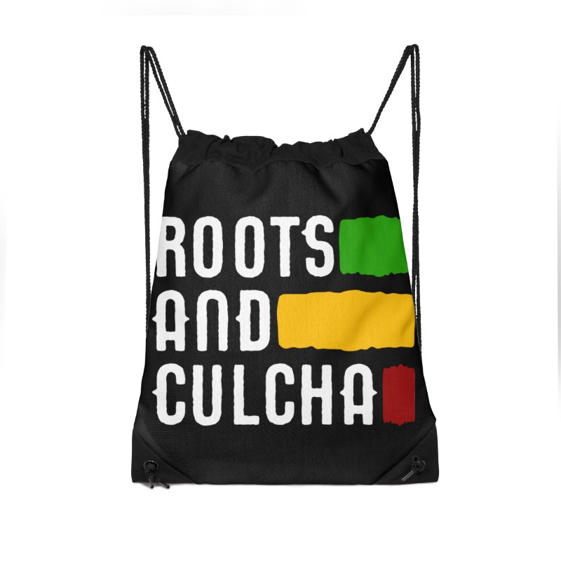Roots and Culcha (Light) Accessories Drawstring Bag Bag by Rasta University Shop