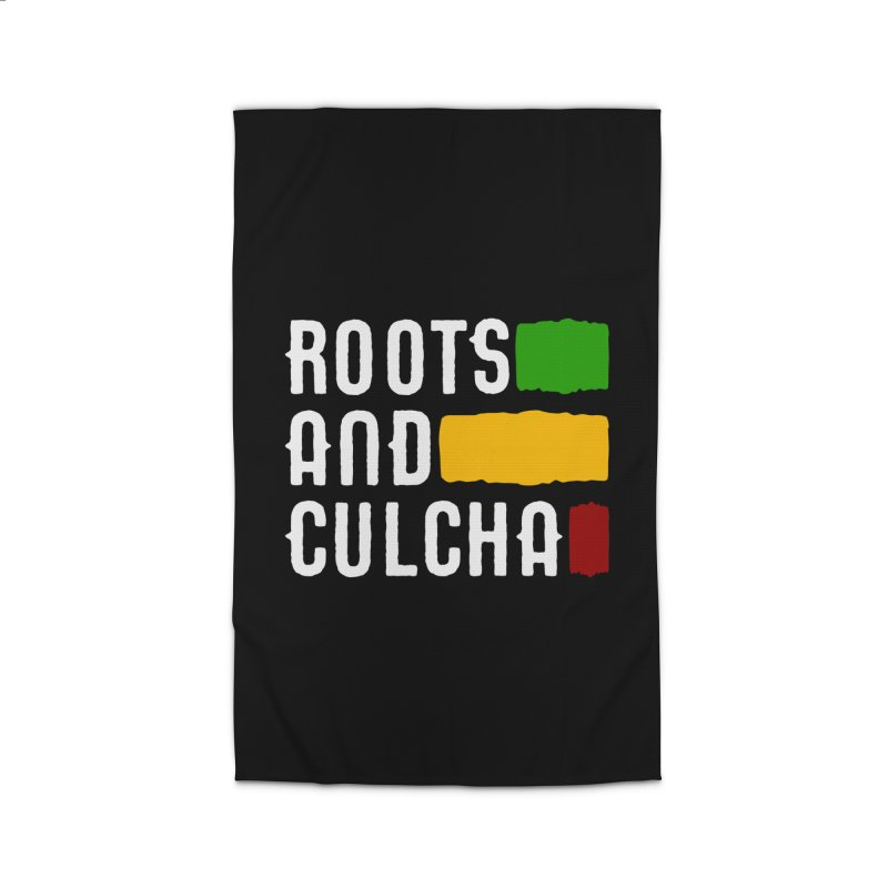 Roots and Culcha (Light) Home Rug by Rasta University Shop