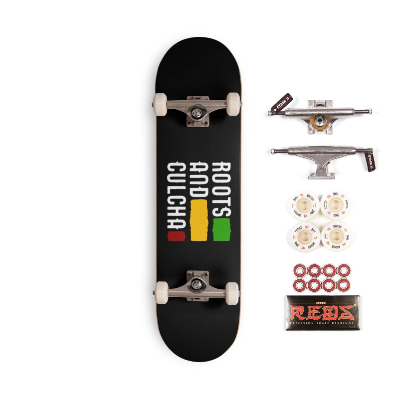 Roots and Culcha (Light) Accessories Complete - Pro Skateboard by Rasta University Shop