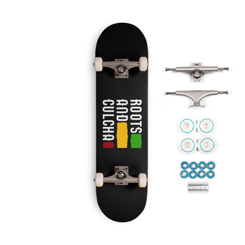 Roots and Culcha (Light) Accessories Complete - Basic Skateboard by Rasta University Shop