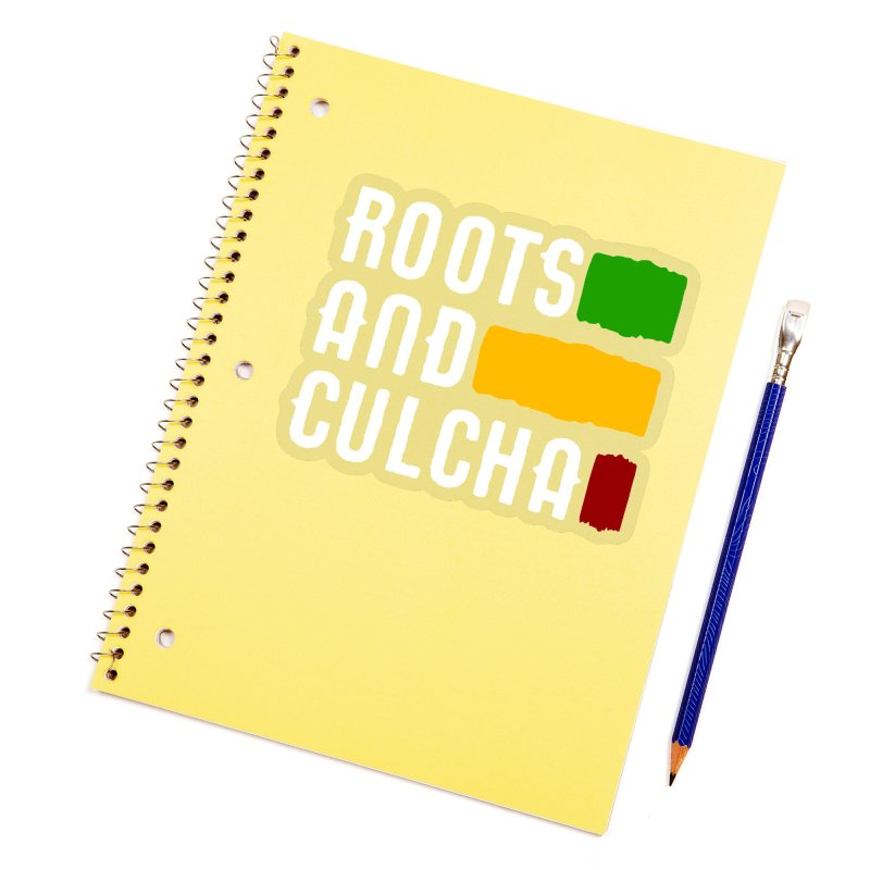 Roots and Culcha (Light) Accessories Sticker by Rasta University Shop
