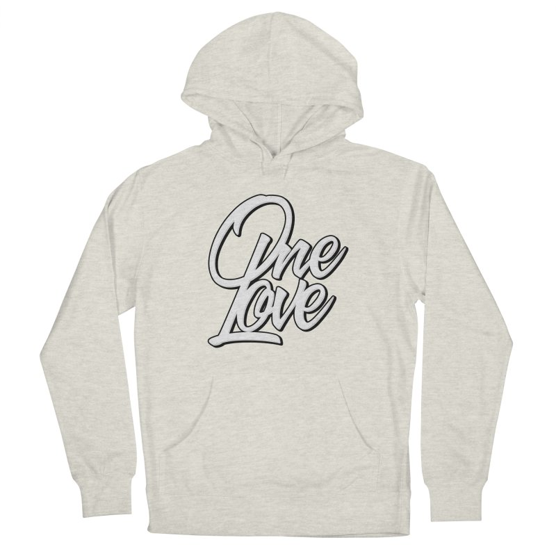 One Love Men's French Terry Pullover Hoody by Rasta University Shop