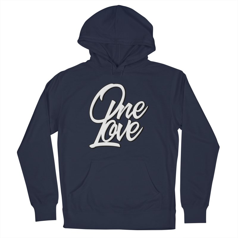 One Love Women's French Terry Pullover Hoody by Rasta University Shop