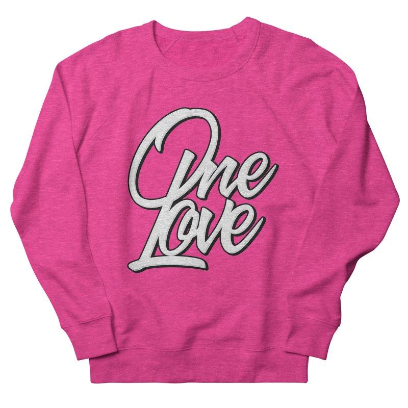 One Love Men's French Terry Sweatshirt by Rasta University Shop