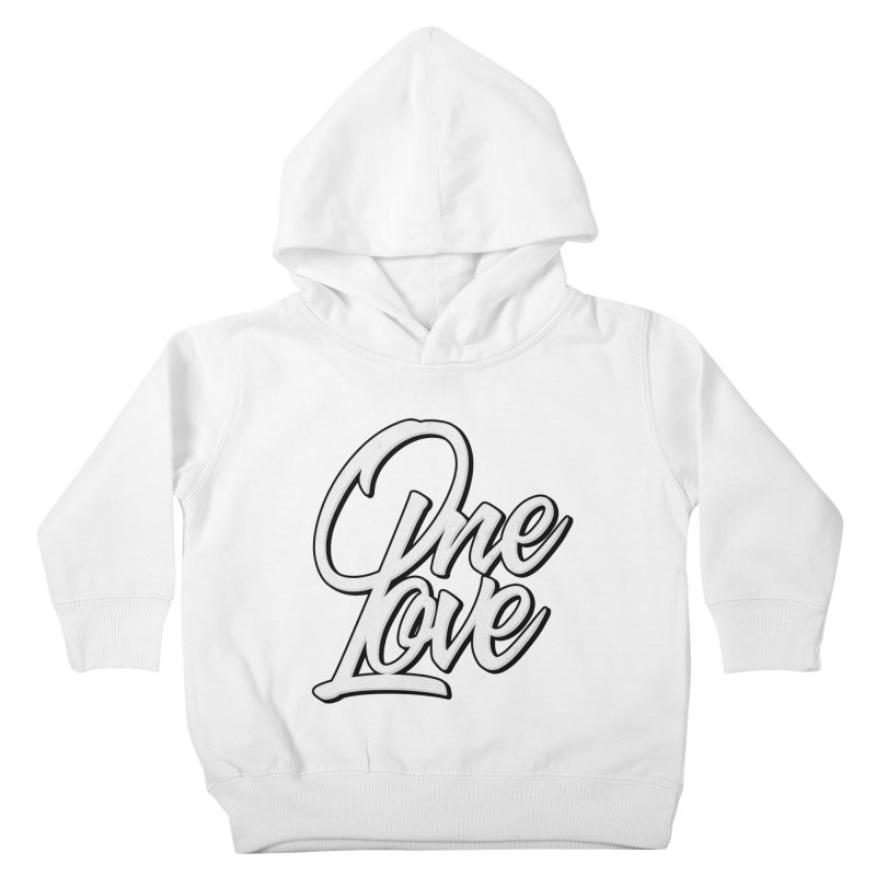 One Love Kids Toddler Pullover Hoody by Rasta University Shop