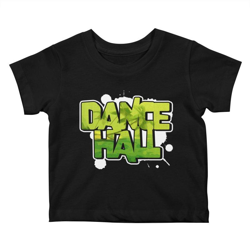 Dancehall Kids Baby T-Shirt by Rasta University Shop