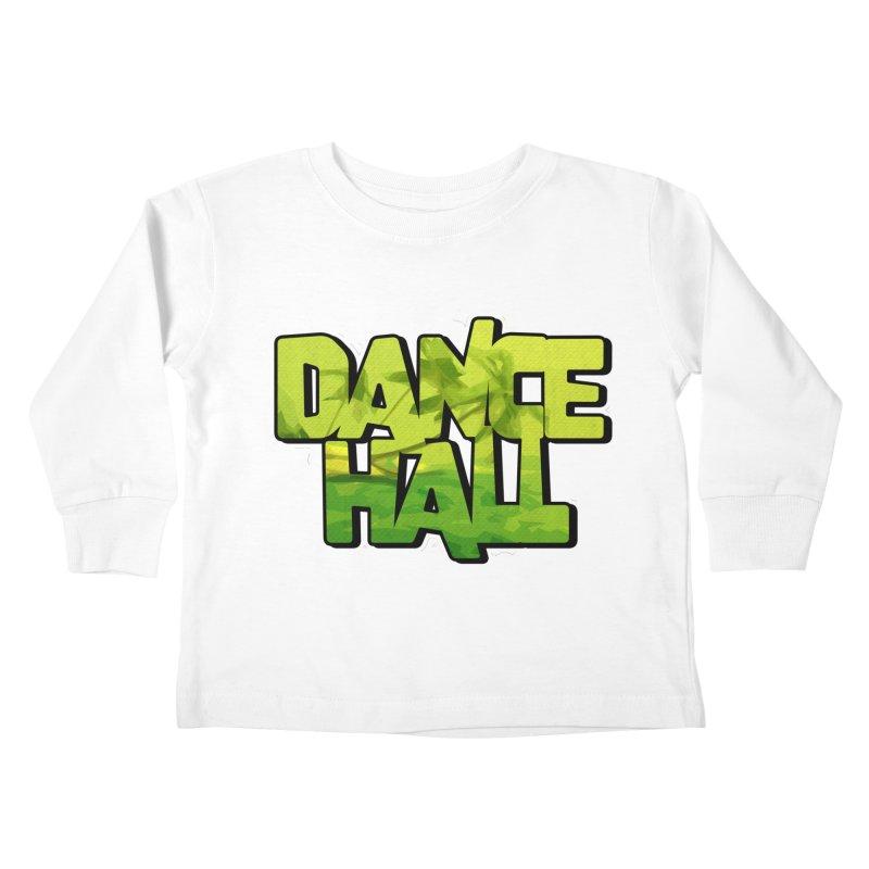 Dancehall Kids Toddler Longsleeve T-Shirt by Rasta University Shop