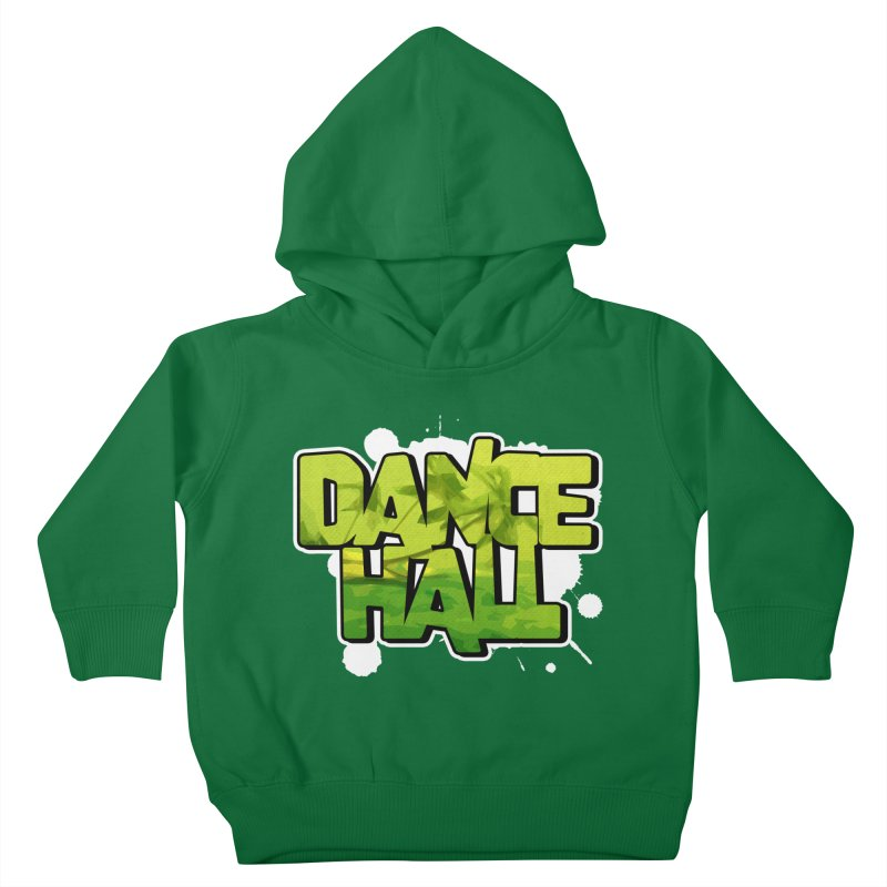 Dancehall Kids Toddler Pullover Hoody by Rasta University Shop