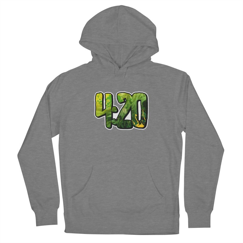 4:20 Men's French Terry Pullover Hoody by Rasta University Shop
