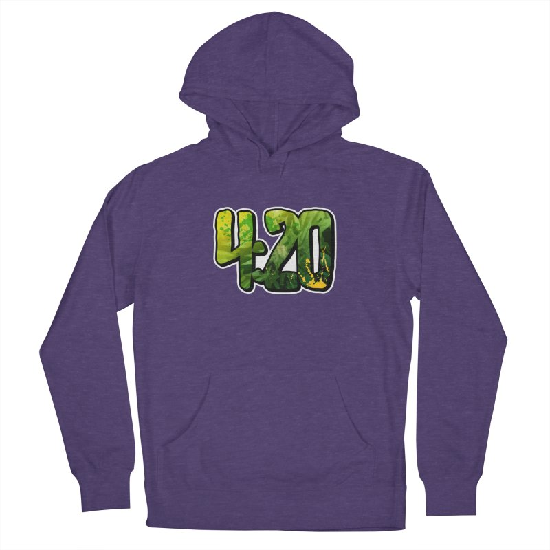 4:20 Women's French Terry Pullover Hoody by Rasta University Shop