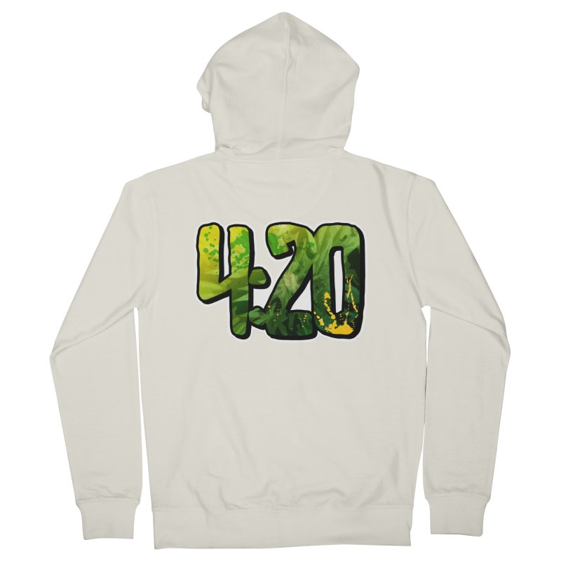 4:20 Men's French Terry Zip-Up Hoody by Rasta University Shop