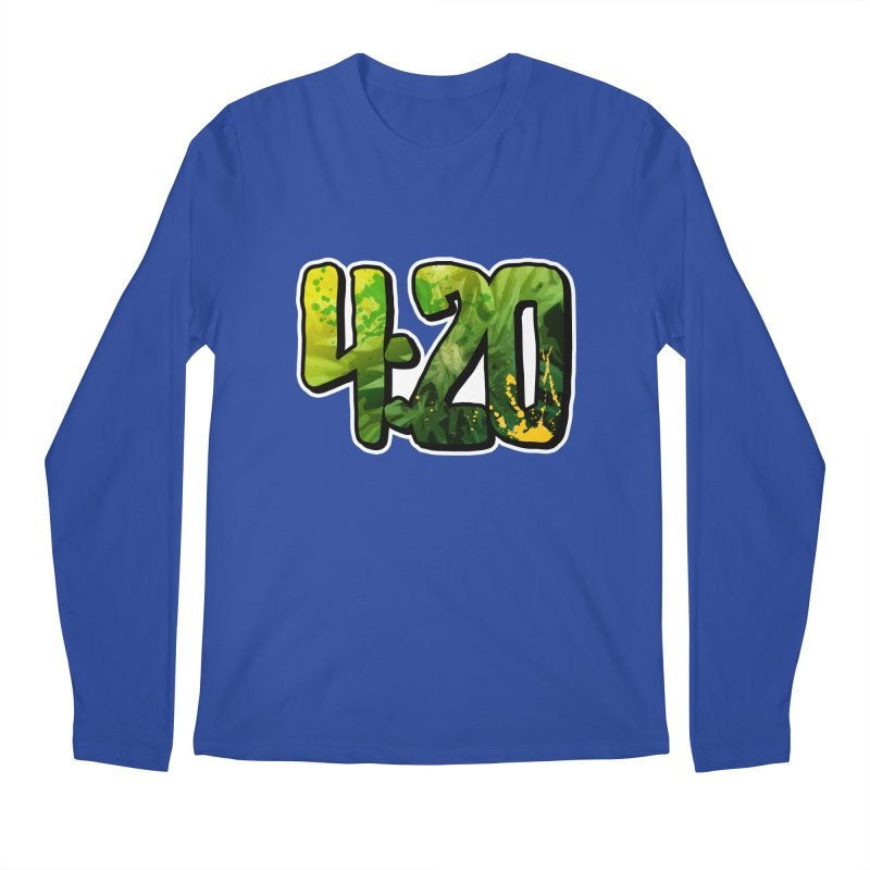 4:20 Men's Regular Longsleeve T-Shirt by Rasta University Shop