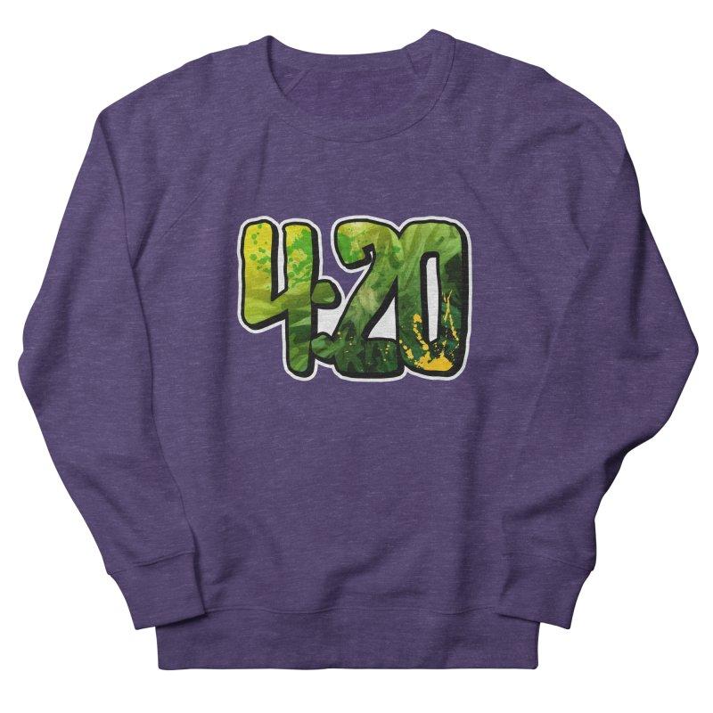 4:20 Men's French Terry Sweatshirt by Rasta University Shop