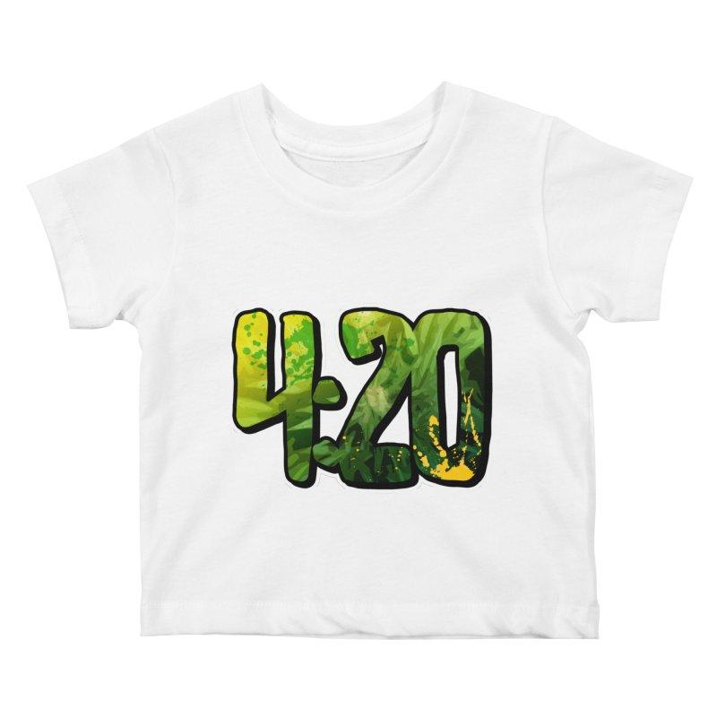 4:20 Kids Baby T-Shirt by Rasta University Shop