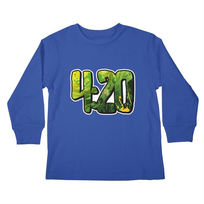 4:20 Kids Longsleeve T-Shirt by Rasta University Shop