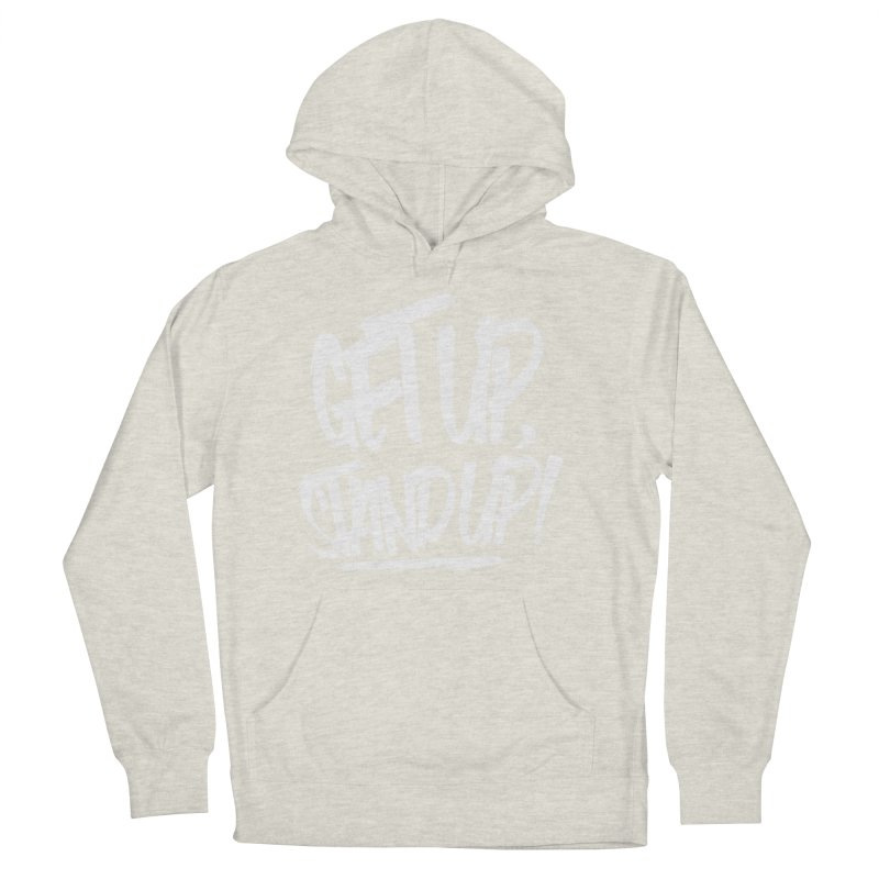 Get Up, Stand Up (Light) Men's Pullover Hoody by Rasta University Shop