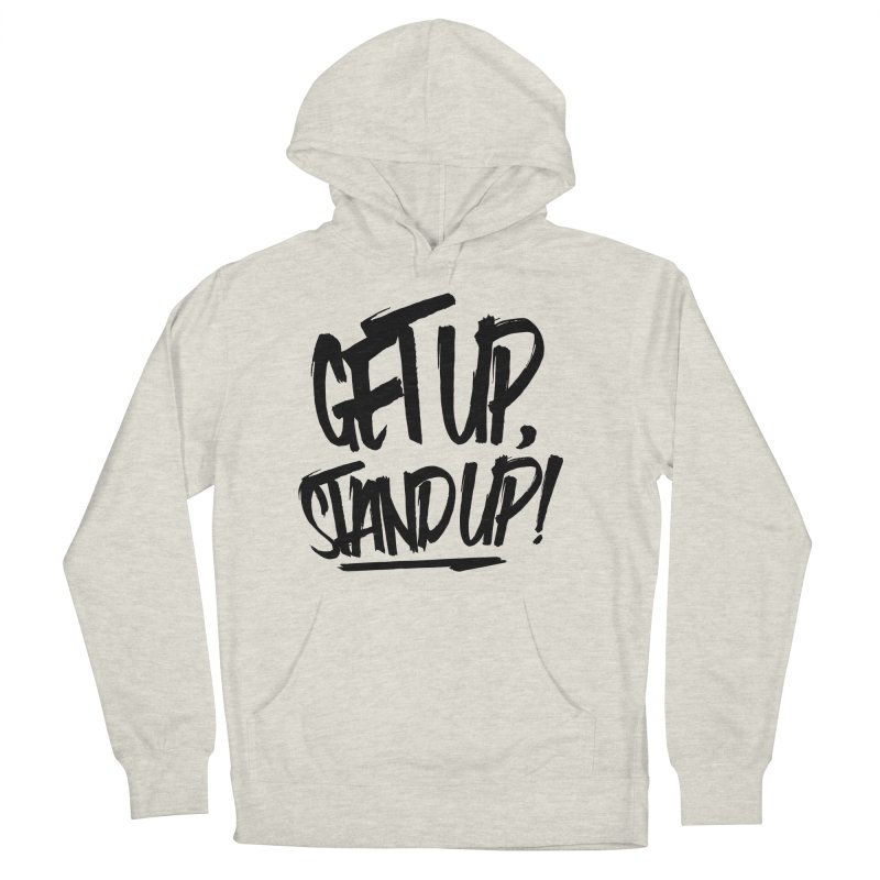 Get Up, Stand Up (Dark) Women's Pullover Hoody by Rasta University Shop