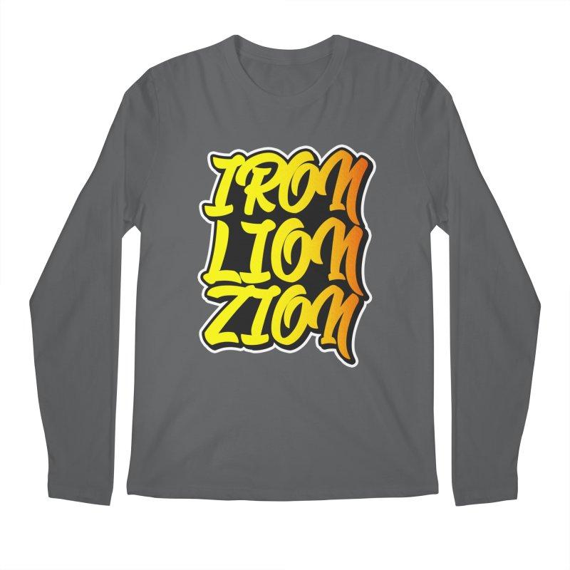 Iron Lion Zion Men's Longsleeve T-Shirt by Rasta University Shop