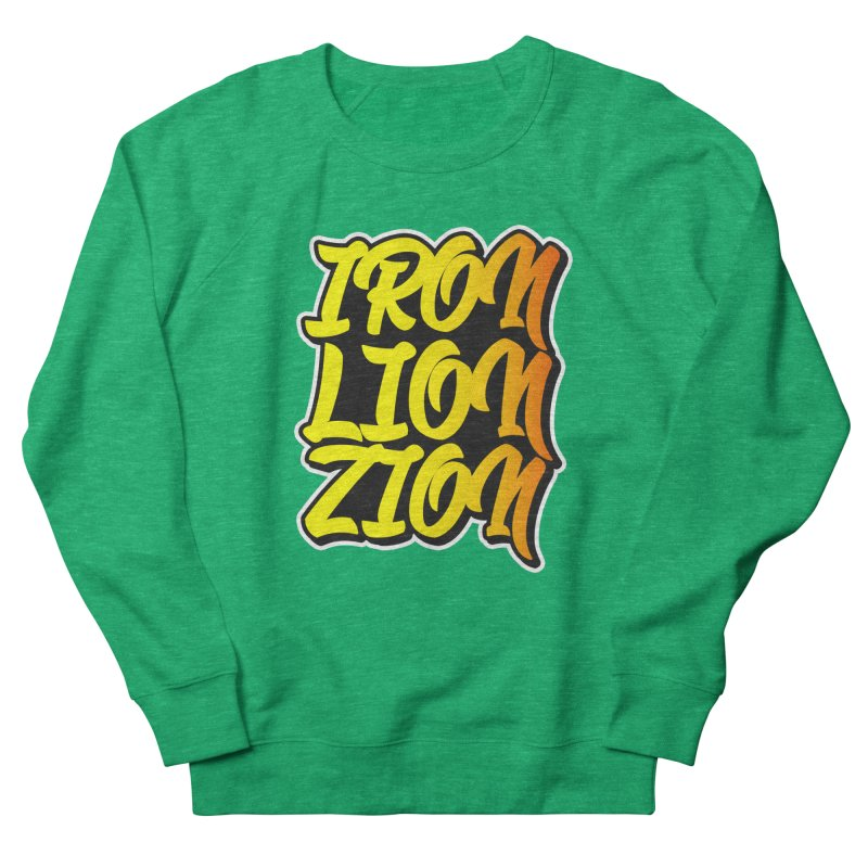 Iron Lion Zion Women's Sweatshirt by Rasta University Shop