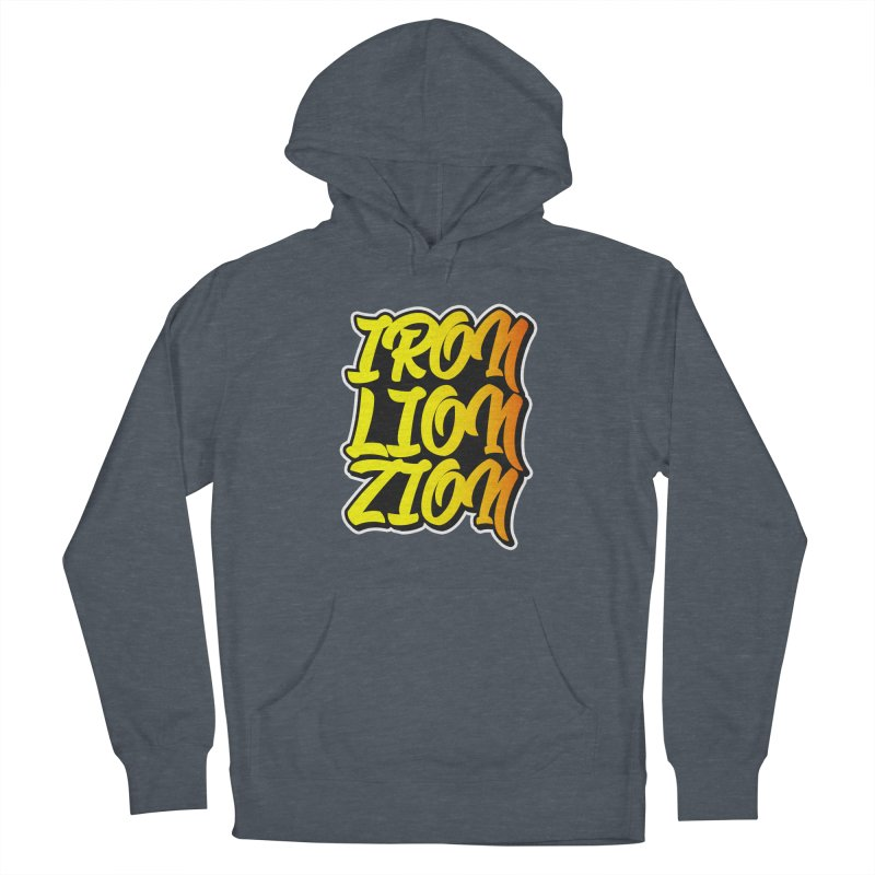 Iron Lion Zion Women's French Terry Pullover Hoody by Rasta University Shop