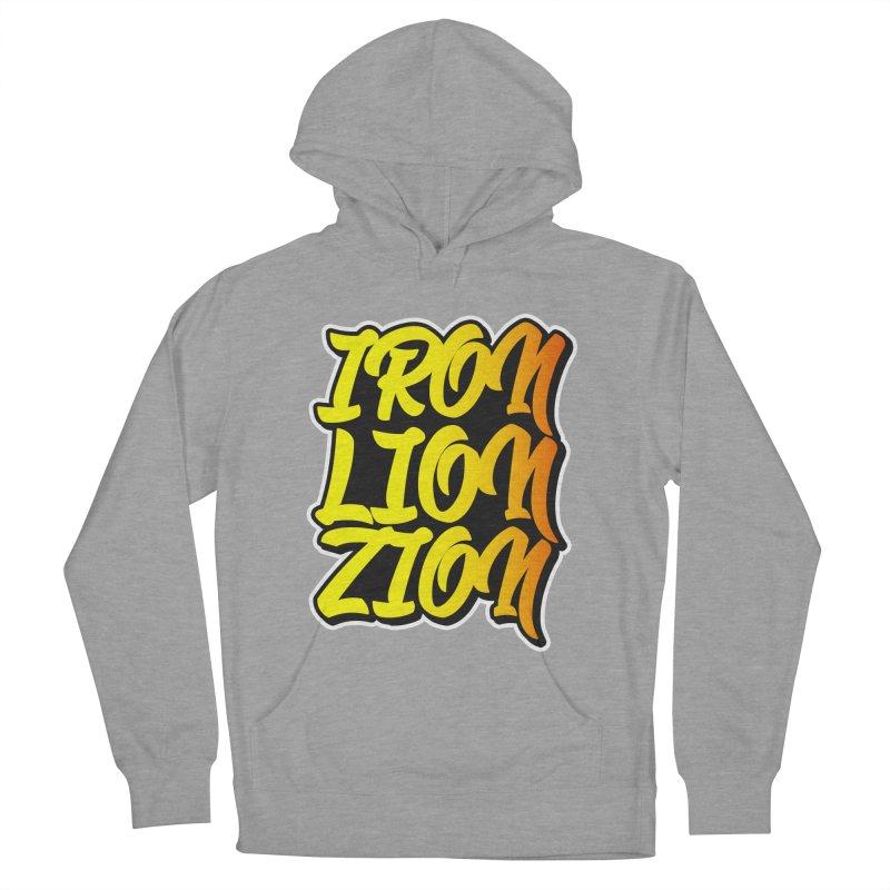 Iron Lion Zion Women's Pullover Hoody by Rasta University Shop