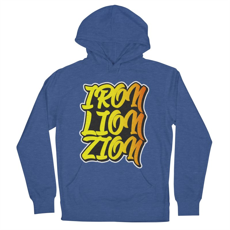 Iron Lion Zion Men's Pullover Hoody by Rasta University Shop