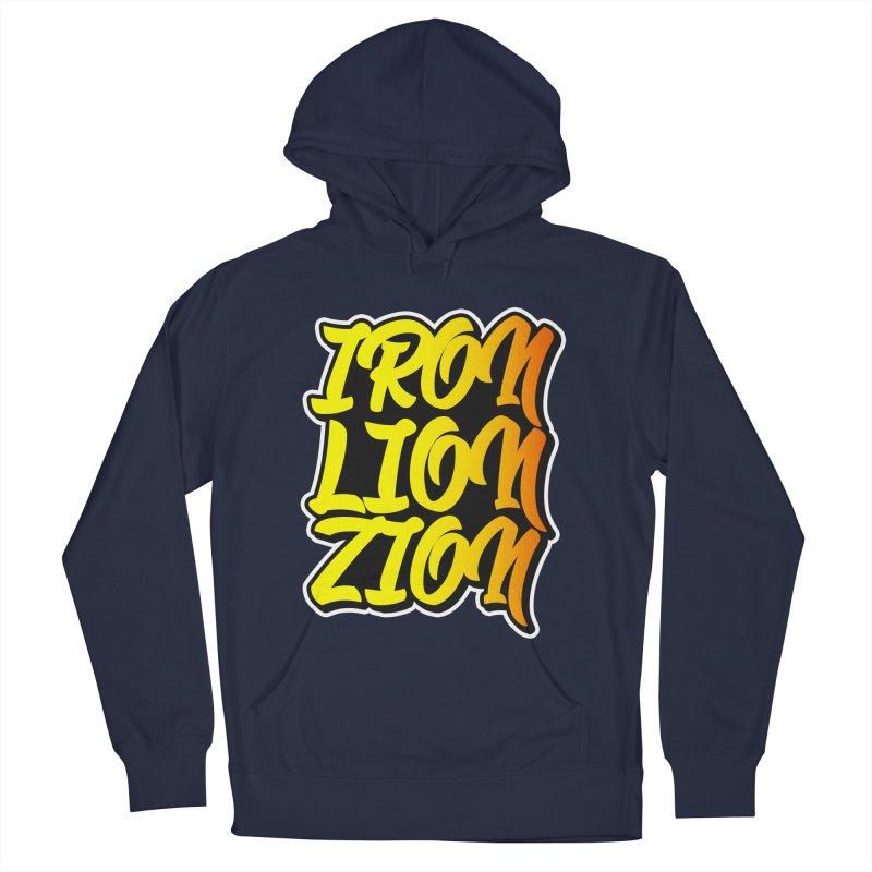Iron Lion Zion Men's Pullover Hoody by Rasta University Shop
