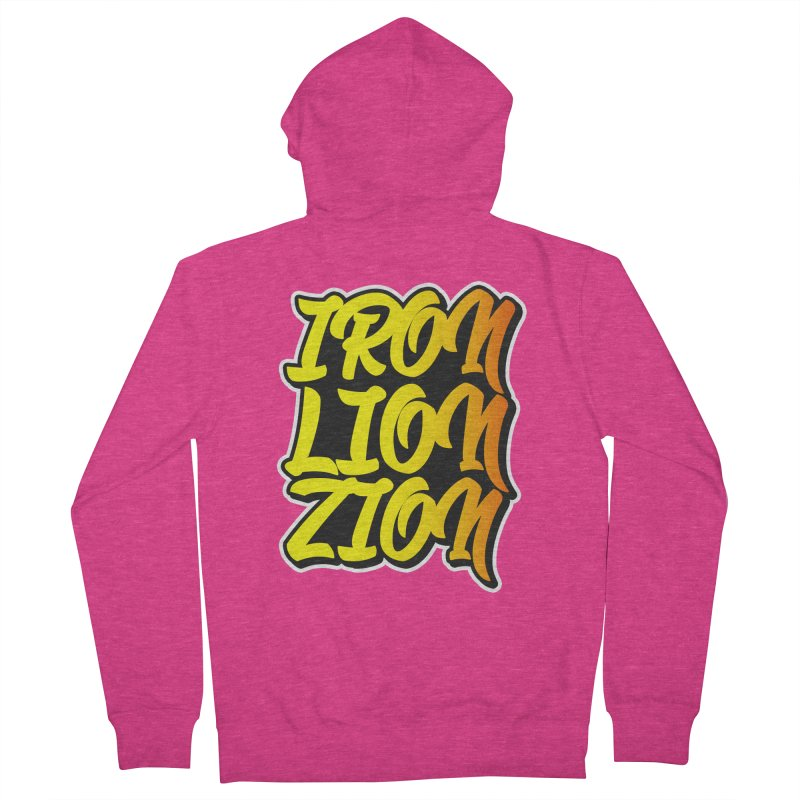 Iron Lion Zion Women's Zip-Up Hoody by Rasta University Shop
