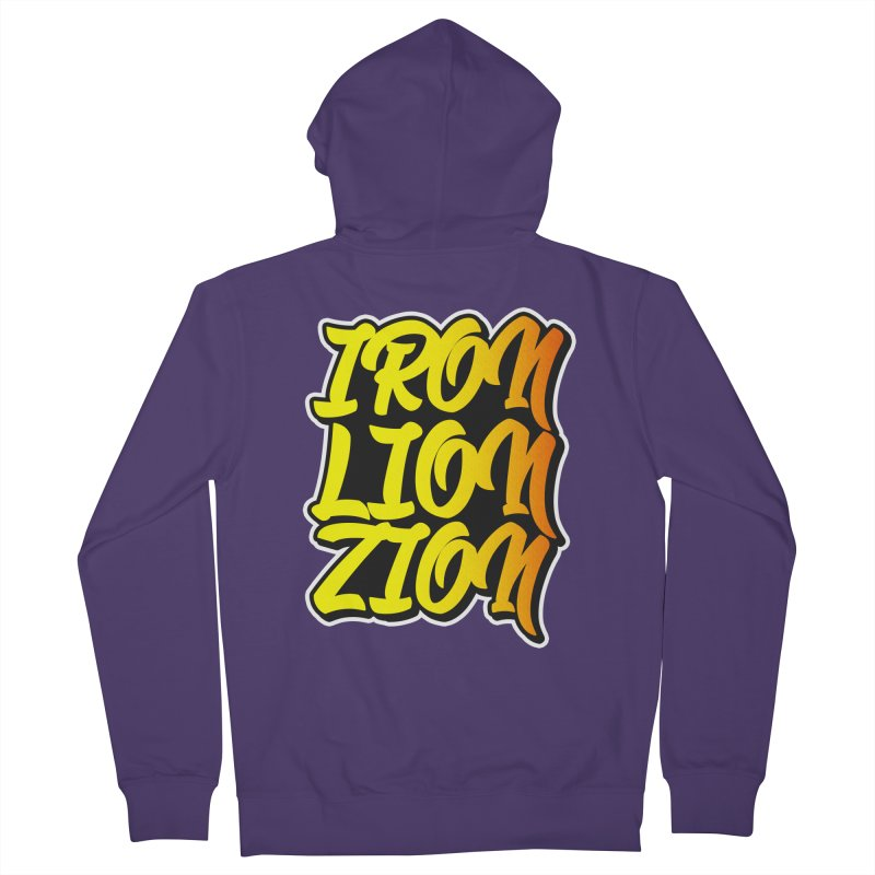 Iron Lion Zion Women's French Terry Zip-Up Hoody by Rasta University Shop