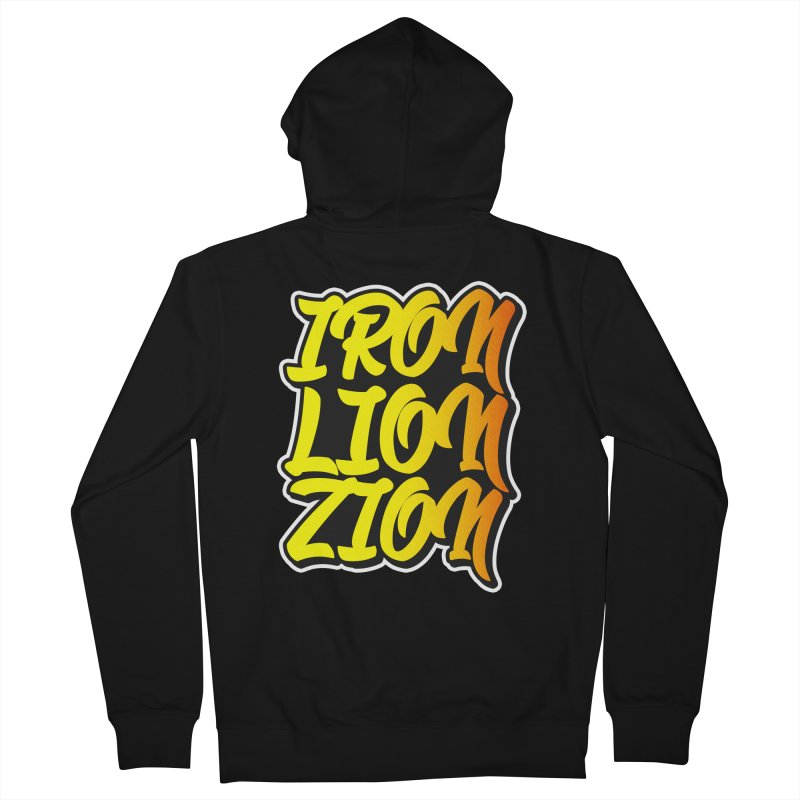 Iron Lion Zion Women's French Terry Zip-Up Hoody by Rasta University Shop