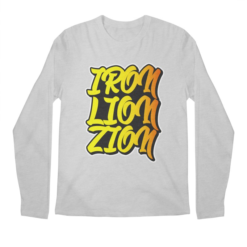 Iron Lion Zion Men's Longsleeve T-Shirt by Rasta University Shop