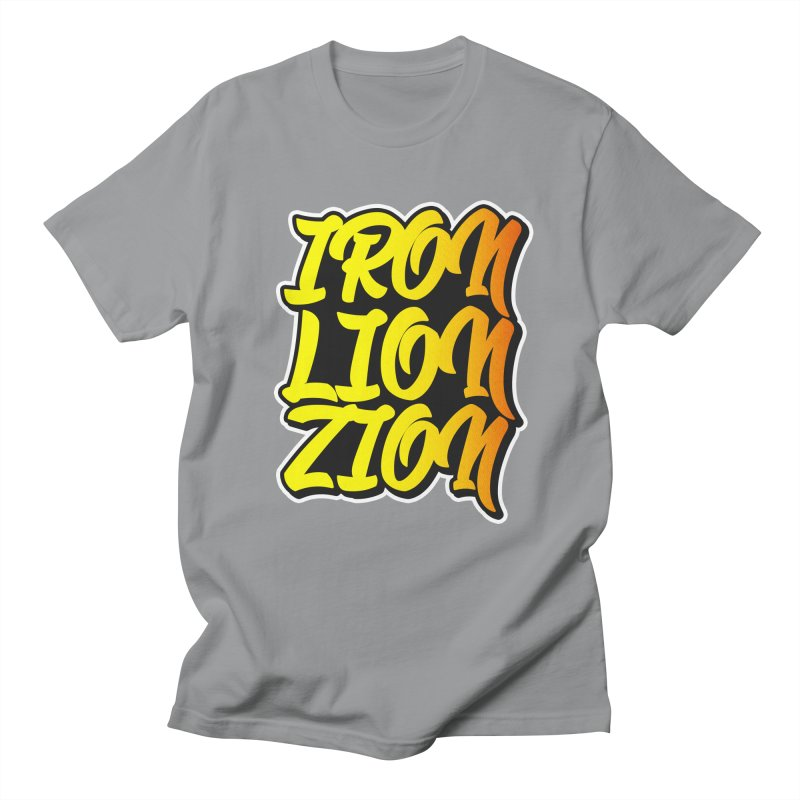 Iron Lion Zion Men's Regular T-Shirt by Rasta University Shop