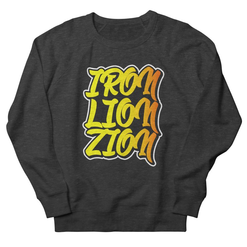Iron Lion Zion Women's French Terry Sweatshirt by Rasta University Shop