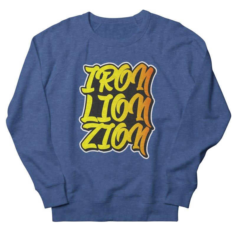 Iron Lion Zion Men's Sweatshirt by Rasta University Shop
