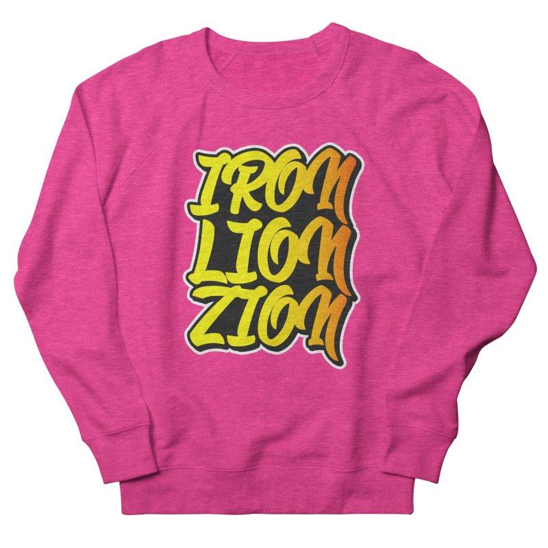Iron Lion Zion Men's French Terry Sweatshirt by Rasta University Shop
