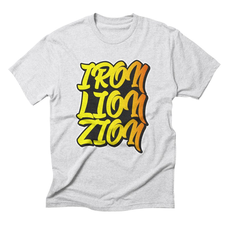 Iron Lion Zion Men's Triblend T-Shirt by Rasta University Shop