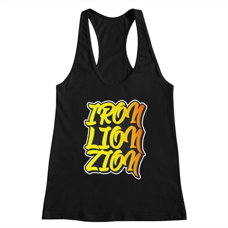Iron Lion Zion Women's Tank by Rasta University Shop