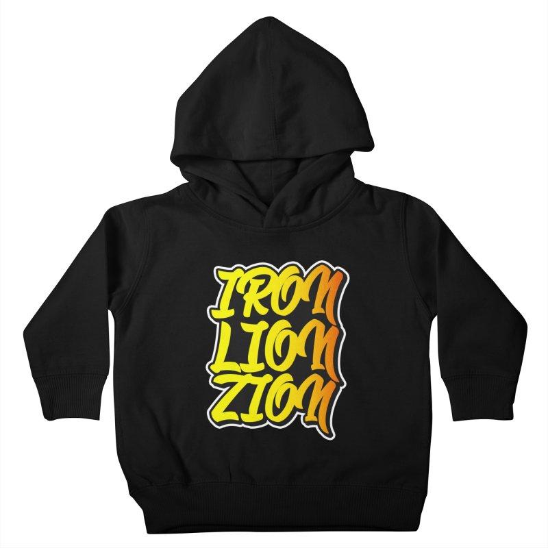 Iron Lion Zion Kids Toddler Pullover Hoody by Rasta University Shop