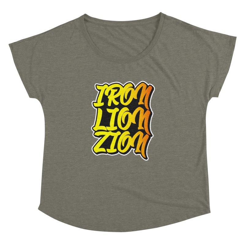 Iron Lion Zion Women's Dolman by Rasta University Shop