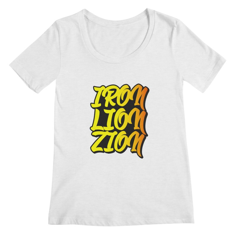 Iron Lion Zion Women's Scoopneck by Rasta University Shop